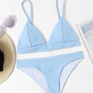 Other - blue bikini never worn